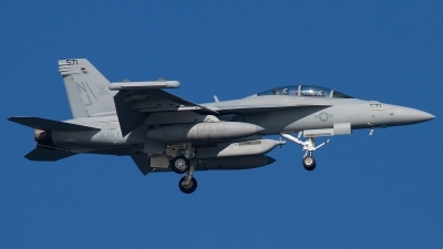 Photo ID 139190 by Russell Hill. USA Navy Boeing EA 18G Growler, 168371