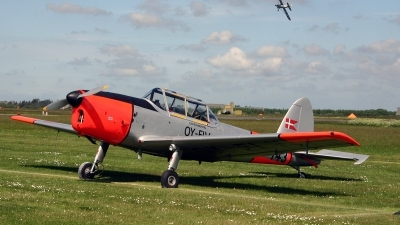 Photo ID 139198 by Jan Eenling. Denmark Air Force De Havilland Canada DHC 1 Chipmunk 22A, OY FLV