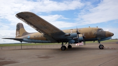 Photo ID 139259 by Lukas Kinneswenger. South Africa Air Force Douglas DC 4 1009, 6902