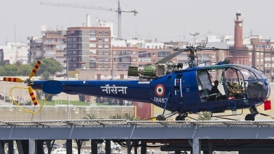 Photo ID 139301 by Jorge Guerra. India Navy Aerospatiale SA 319B Alouette III, IN467