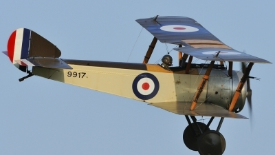 Photo ID 139273 by rinze de vries. Private Shuttleworth Collection Sopwith Pup, G EBKY