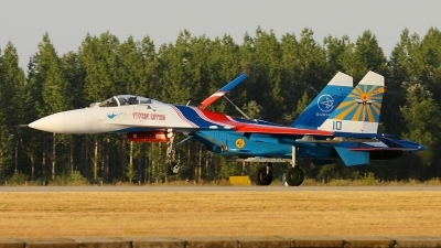 Photo ID 139339 by Maurice Kockro. Russia Air Force Sukhoi Su 27S, 10 BLUE