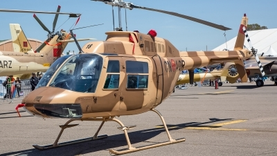 Photo ID 139824 by Lars Kitschke. Morocco Air Force Agusta AB 206B 1 JetRanger II, CN AQR