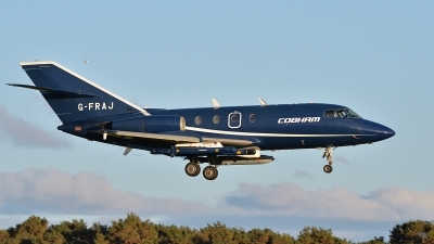 Photo ID 139921 by Lieuwe Hofstra. Company Owned Cobham Aviation Dassault Falcon 20E, G FRAJ