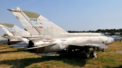 Photo ID 140280 by Peter Terlouw. Serbia and Montenegro Air Force Mikoyan Gurevich MiG 21M, 22805