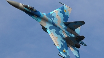 Photo ID 140309 by Dominic Maurer. Ukraine Air Force Sukhoi Su 27S, 39 BLUE