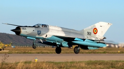 Photo ID 140336 by Petru DIMOFF. Romania Air Force Mikoyan Gurevich MiG 21MF 75 Lancer C, 9611