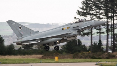Photo ID 141217 by Doug MacDonald. UK Air Force Eurofighter EF 2000 Typhoon FGR4, ZJ932