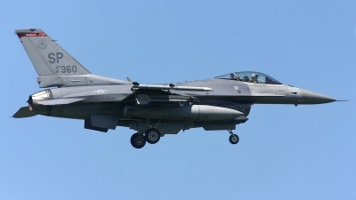 Photo ID 140649 by Rainer Mueller. USA Air Force General Dynamics F 16C Fighting Falcon, 91 0360