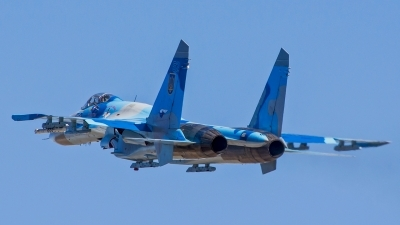 Photo ID 140450 by Antoha. Ukraine Air Force Sukhoi Su 27S, 52 BLUE