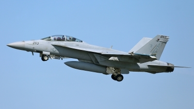 Photo ID 140500 by David F. Brown. USA Navy Boeing F A 18F Super Hornet, 166978