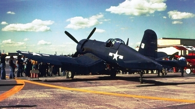 Photo ID 140587 by Robert W. Karlosky. Private Private Vought F4U 7 Corsair, C GWFH