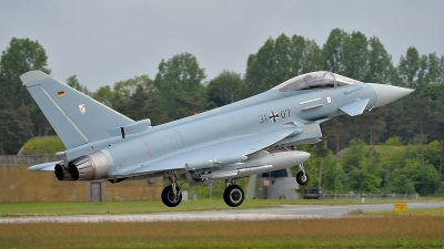 Photo ID 140555 by Lieuwe Hofstra. Germany Air Force Eurofighter EF 2000 Typhoon S, 31 07