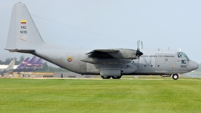 Photo ID 140578 by Hector Rivera - Puerto Rico Spotter. Colombia Air Force Lockheed C 130H Hercules L 382, FAC1015
