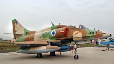 Photo ID 140598 by Jens Hameister. Israel Air Force McDonnell Douglas A 4N AhitM, 357