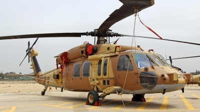 Photo ID 140624 by Jens Hameister. Israel Air Force Sikorsky S 70A 55 Yanshuf 3 Black Hawk, 575