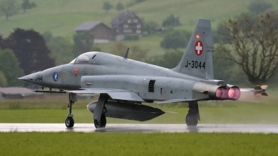 Photo ID 140660 by Martin Thoeni - Powerplanes. Switzerland Air Force Northrop F 5E Tiger II, J 3044