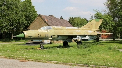 Photo ID 140762 by kristof stuer. Germany Air Force Mikoyan Gurevich MiG 21bis, 24 29