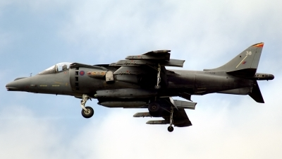 Photo ID 140718 by Sven Zimmermann. UK Air Force British Aerospace Harrier GR 7, ZD409