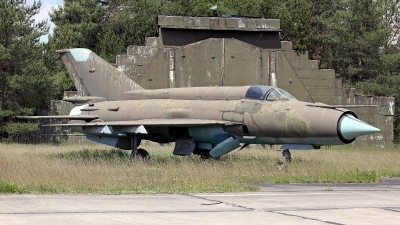 Photo ID 140776 by Carl Brent. East Germany Air Force Mikoyan Gurevich MiG 21M, 505