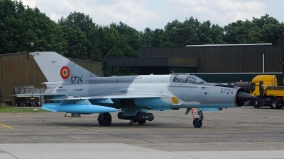 Photo ID 142523 by Jan Eenling. Romania Air Force Mikoyan Gurevich MiG 21MF 75 Lancer C, 5724