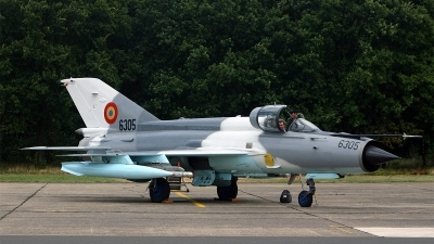 Photo ID 140799 by Jan Eenling. Romania Air Force Mikoyan Gurevich MiG 21MF 75 Lancer C, 6305
