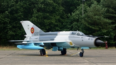 Photo ID 140800 by Jan Eenling. Romania Air Force Mikoyan Gurevich MiG 21MF 75 Lancer C, 6707