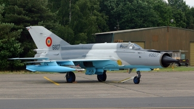 Photo ID 140801 by Jan Eenling. Romania Air Force Mikoyan Gurevich MiG 21MF 75 Lancer C, 6807