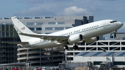 Photo ID 140814 by Russell Hill. USA Air Force Boeing C 40C BBJ 737 7CP, 02 0201