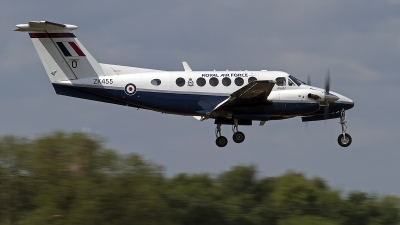 Photo ID 140885 by Niels Roman / VORTEX-images. UK Air Force Beech Super King Air B200 GT, ZK455