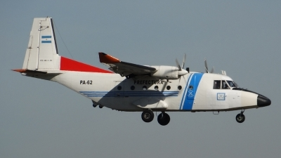 Photo ID 141071 by Martin Kubo. Argentina Coast Guard CASA C 212 300 Aviocar, PA 62