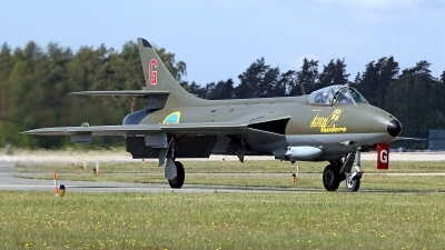 Photo ID 141050 by Carl Brent. Private Private Hawker Hunter F58A, SE DXM