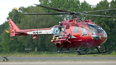 Photo ID 141094 by Carl Brent. Germany Army MBB Bo 105P PAH 1, 86 49