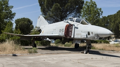 Photo ID 141110 by Alfonso S.. Spain Air Force McDonnell Douglas RF 4C Phantom II, CR 12 46