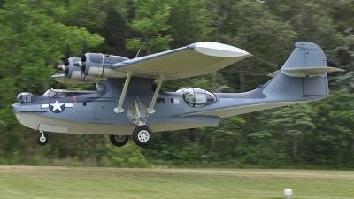 Photo ID 141282 by Joe Osciak. Private Military Aviation Museum Consolidated PBY 5A Catalina, N9521C