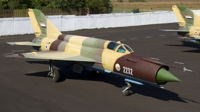 Photo ID 141214 by Chris Lofting. Yemen Air Force Mikoyan Gurevich MiG 21bis, 2232