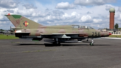 Photo ID 141224 by Carl Brent. East Germany Air Force Mikoyan Gurevich MiG 21UM, 256