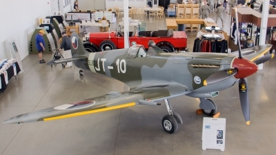 Photo ID 141397 by Aaron C. Rhodes. Private Historic Flight Foundation Supermarine 361 Spitfire LF9E, N633VS