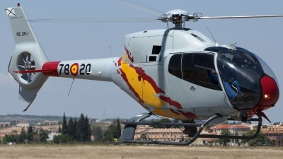 Photo ID 141337 by Jesus Peñas. Spain Air Force Eurocopter EC 120B Colibri, HE 25 1