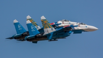 Photo ID 141540 by Gyula Rácz. Russia Air Force Sukhoi Su 27S, 10 BLUE