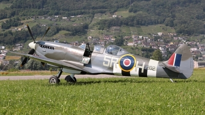 Photo ID 141562 by Ludwig Isch. Private Historic Flying Ltd Supermarine 509 Spitfire T9C, G CCCA