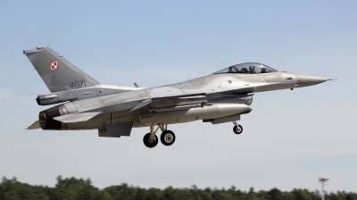 Photo ID 141551 by Piotr Nowak. Poland Air Force General Dynamics F 16C Fighting Falcon, 4071