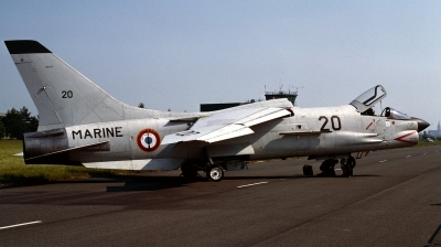 Photo ID 141575 by Alex Staruszkiewicz. France Navy Vought F 8E FN Crusader, 20