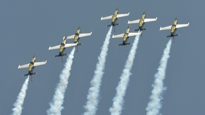 Photo ID 142555 by Martin Thoeni - Powerplanes. Private Breitling Jet Team Aero L 39C Albatros, ES YLI