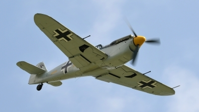 Photo ID 141646 by Martin Thoeni - Powerplanes. Private Historic Flying Ltd Hispano HA 1112 M1L Buchon, G BWUE