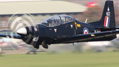 Photo ID 18434 by Chris Procter. UK Air Force Short Tucano T1, ZF407