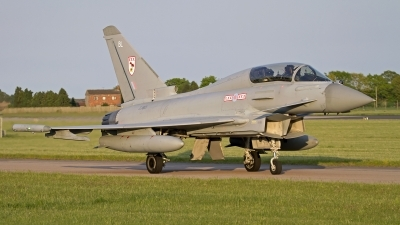 Photo ID 141724 by Niels Roman / VORTEX-images. UK Air Force Eurofighter EF 2000 Typhoon T3, ZJ813