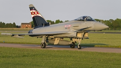 Photo ID 141722 by Niels Roman / VORTEX-images. UK Air Force Eurofighter EF 2000 Typhoon FGR4, ZK343