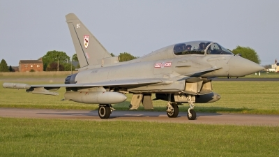 Photo ID 141721 by Niels Roman / VORTEX-images. UK Air Force Eurofighter EF 2000 Typhoon T3, ZK380