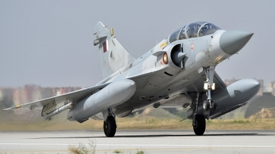 Photo ID 142035 by Lieuwe Hofstra. Qatar Emiri Air Force Dassault Mirage 2000 5DDA, QA87